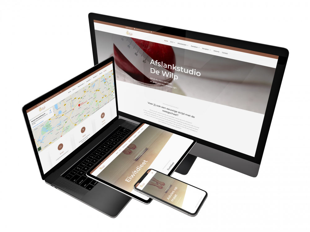Cases Portfolio website betaalbaar, Cases van DynamicStyle, WordPress webdesign | Website | Webshop | SEO